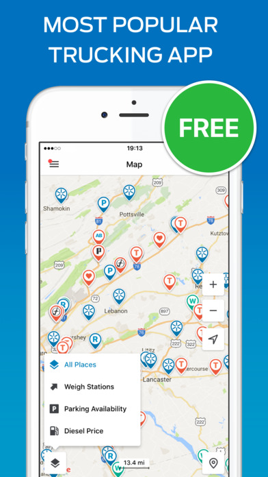 download Trucker Path – Truck Stops & Weigh Stations apps 3