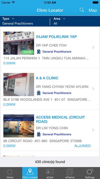 MHC Clinic Network iPhone Screenshot 3