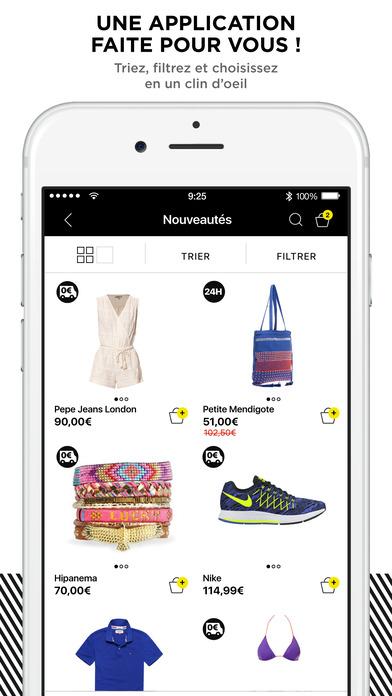 BrandAlley iPhone Screenshot 3