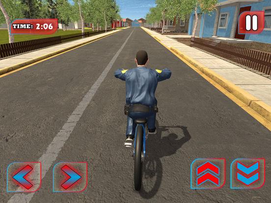 Screenshot #4 for Police BMX Rider: Crime