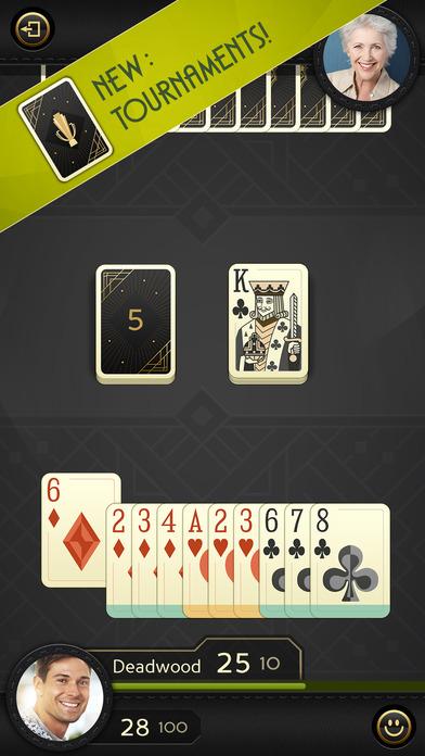 Grand Gin Rummy - Online Card Game for Free Screenshot