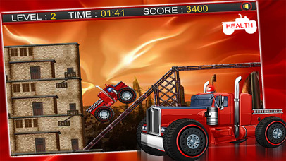 Fire Truck Rescue : Racing Simulator screenshot 2