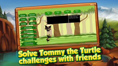 Tommy the Turtle – Learn to Code Screenshot