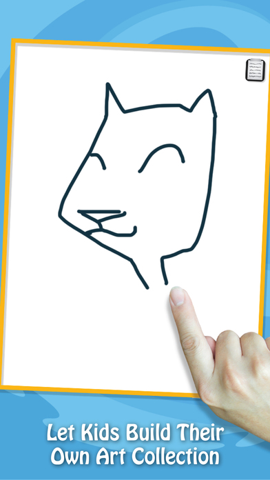 Paint & Play Cats, Coloring Book For Kids iPhone Screenshot 3