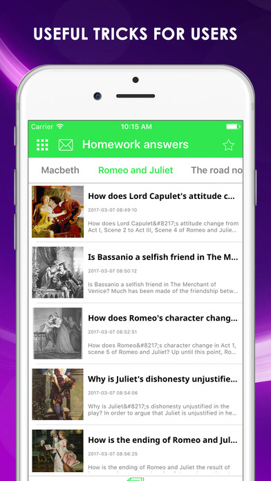 Homework answers Apps free for iPhone/iPad screenshot