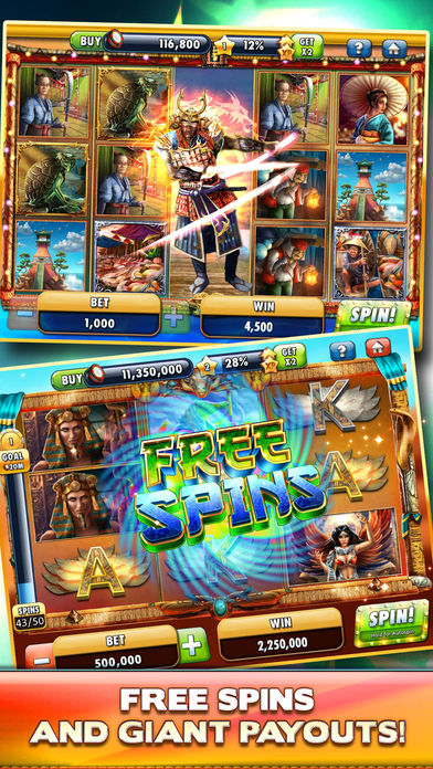 Slots - Journey of Magic screenshot 2