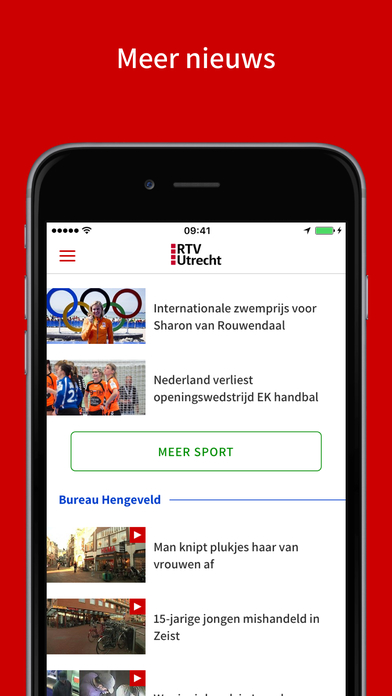 RTV Utrecht iPhone Screenshot 4
