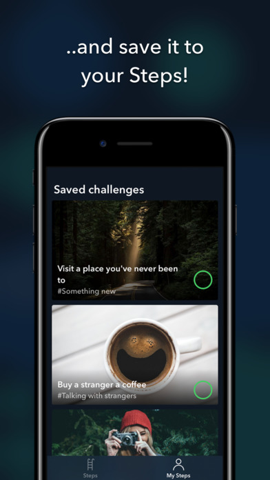 Steps: Overcome social anxiety Apps free for iPhone/iPad screenshot