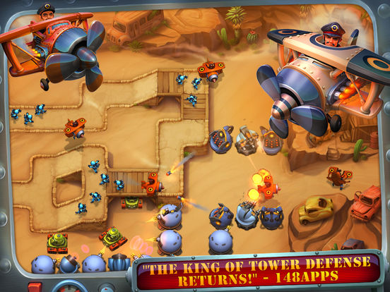Fieldrunners 2 for iPad Screenshots