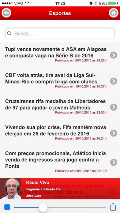 ITATIAIA AM/FM iPhone Screenshot 2