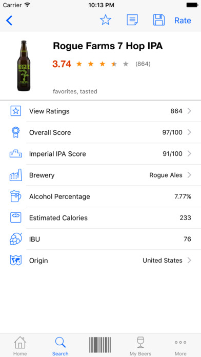 Beer Buddy - Scanner & Ratings app image
