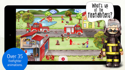 Tiny Firefighters: Police & Firefighters for Kids Screenshots