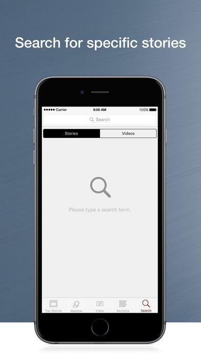 KTNV Mobile Local News iPhone Screenshot 3