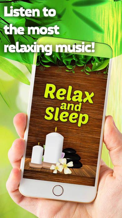 Relax and Sleep - Relaxing Melodies Lullaby Music screenshot 1