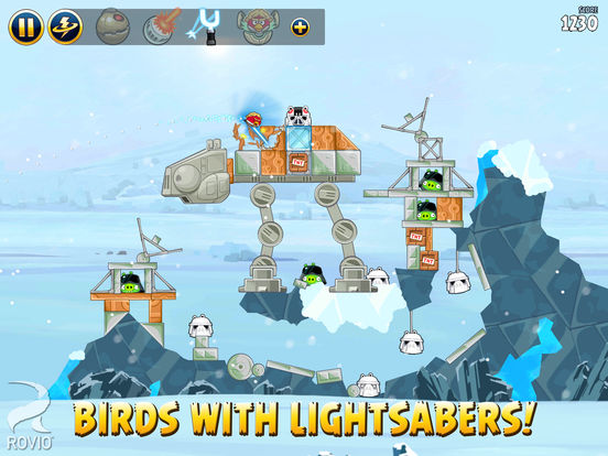 Angry Birds Star Wars HD Screenshots