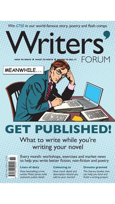 Writers' Forum Magazine iPhone Screenshot 3