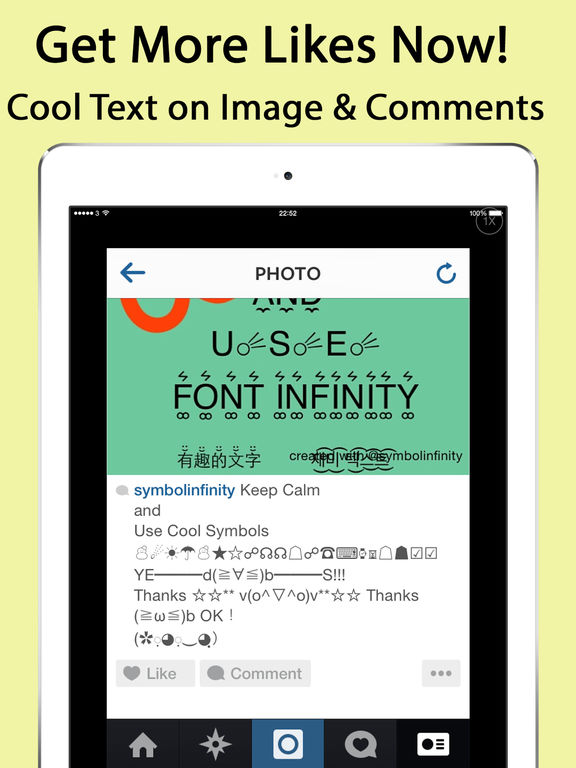 Symbol Infinity ∞ Keyboard for Emoji, Text Symbols on the App Store
