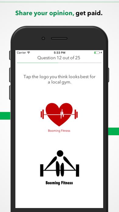 Zap Surveys Apps free for iPhone/iPad screenshot