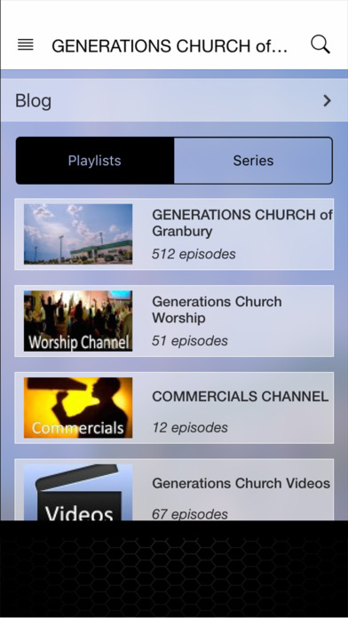 Generations Church of Granbury iPhone Screenshot 2