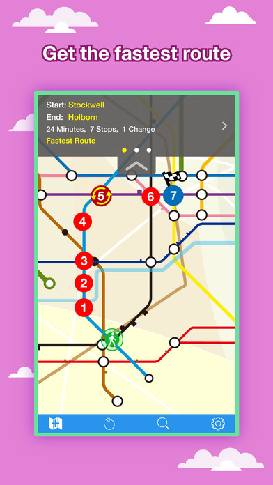 London City Maps - Download Underground, Bus, Train Maps and Tourist Guides. iPhone Screenshot 2