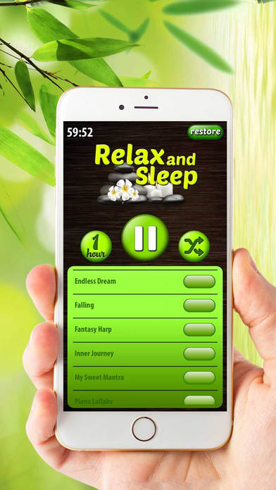 Relax and Sleep - Relaxing Melodies Lullaby Music screenshot 4