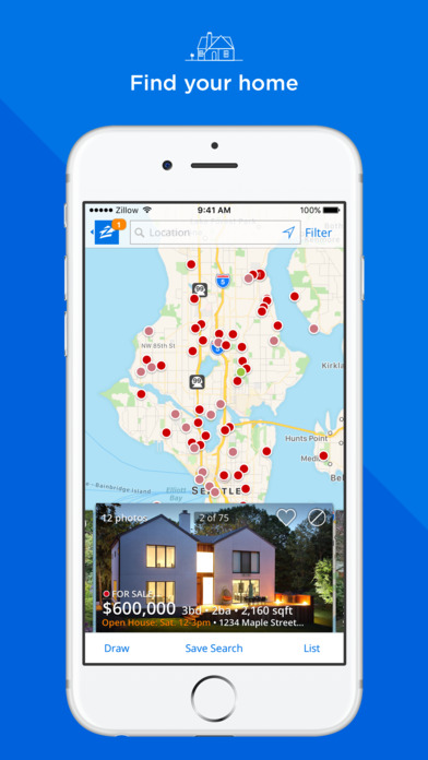 Zillow Real Estate - Homes for Sale & for Rent screenshot 1