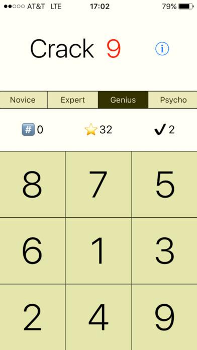Crack 9 - Keypad Code Breaker screenshot 4