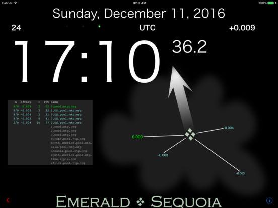 Emerald Time iPad Screenshot 1