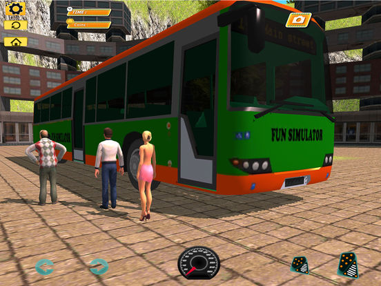 Bus Simulator : Extreme Offroad Drive screenshot 7