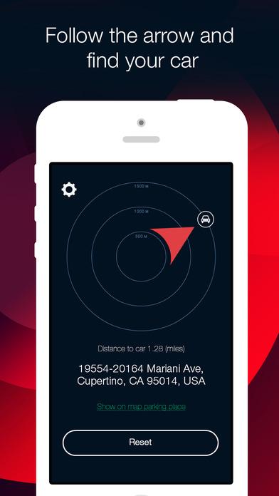 Car Finder: parking navigator and compass Screenshots