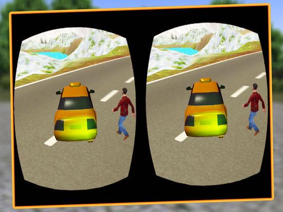 VR Modern Snow Taxi Driving screenshot 6