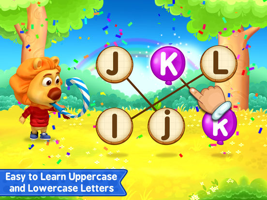 Screenshots of ABC Kids - Tracing & Phonics for iPad