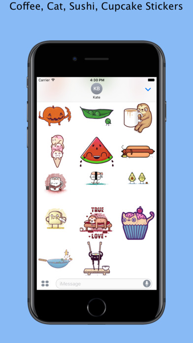 App Shopper: Happy Things - Redbubble sticker pack (Stickers)