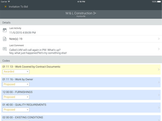 SmartBidNet iPad Screenshot 5