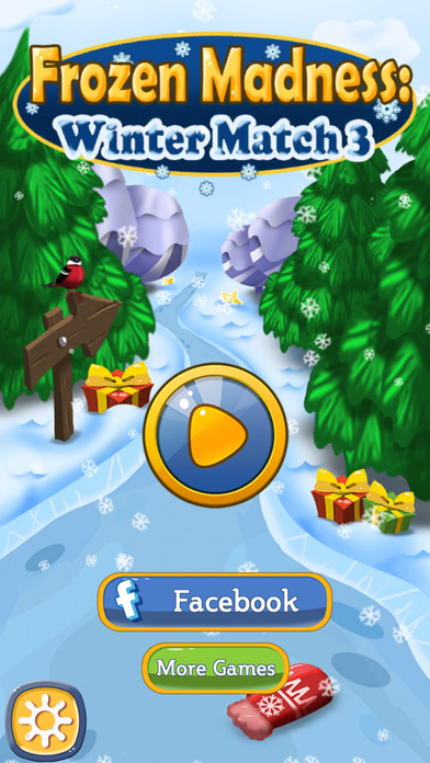 Frozen Madness: Winter Match 3 screenshot