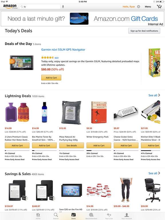 Amazon Mobile screenshot 7