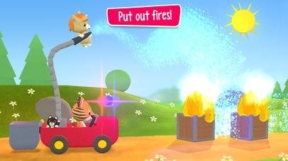 Little Tiger: Fire Truck, Submarine, Spaceship screenshot