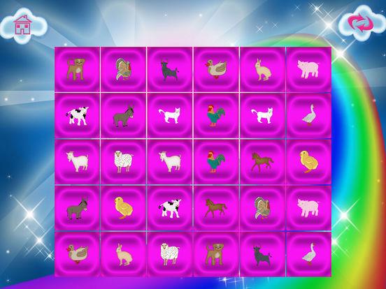 Animals Match Memory Cards Farm Game screenshot 8
