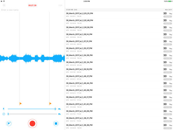 Voice Recorder PRO - Recording App Screenshots