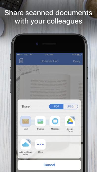 Screenshot #8 for Scanner App - PDF Scanner OCR & Document Printer