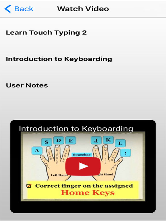 Learn to type: touch typing Mac app - YouTube