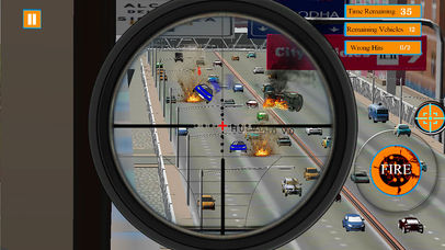 Traffic Shooter screenshot 2
