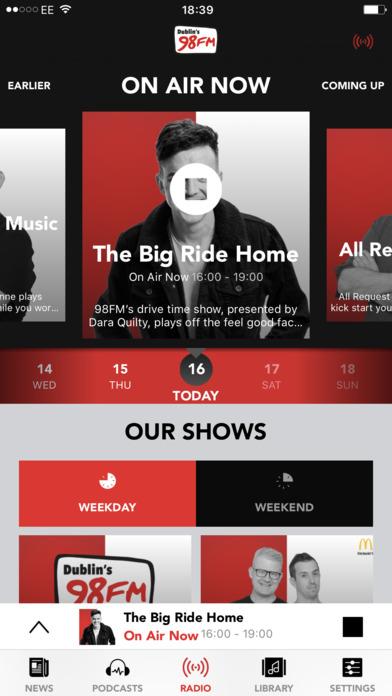 98FM iPhone Screenshot 1