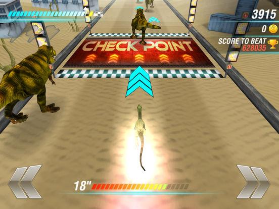 Игра Легенды дино: Dino Racing Sim
