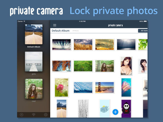 Private Camera Pro - Keep Lock Picture Vault Safe Screenshots