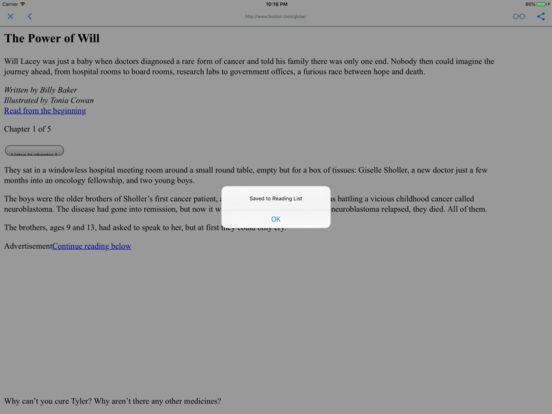 NEWSPAPERS AND MAGAZINES iPad Screenshot 3