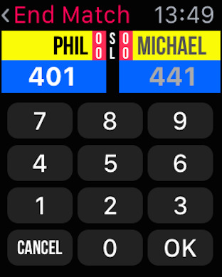 Russ Bray Darts Scorer iPhone Screenshot 6