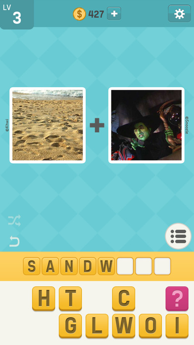 Pictoword Fun 2 Pics Guess What s the Word Trivia hack tool Coins