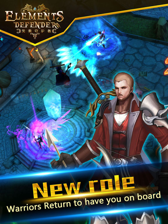 Игра Elements Defender 3D : Epic Tower Defense