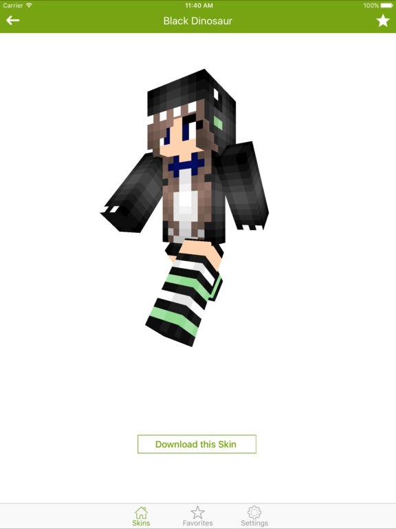Dinosaur Skins For Minecraft PE PC Edition AppRecs - Skins para minecraft pc 1 11